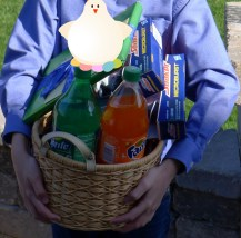 Easter basket SODA explosion