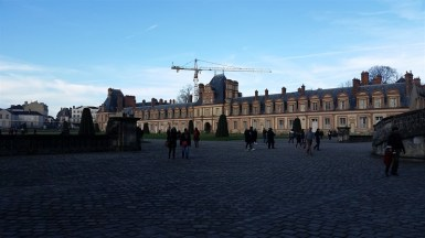 Chateau Fontainebleau: home of Napoleon and other kings when they wanted to live somewhere other than their 100 other castles.