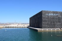 The MUCEM, or Mediterranean History Museum. While supposedly cool, it was too nice out to go in.