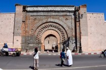 Bab Agnaou, one of 19 gates to the medina. This particular one was built in the 12th century.