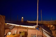 On Mustapha's rooftop terrace.