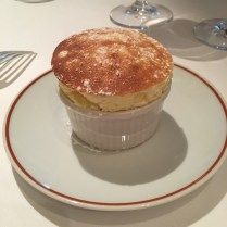 Followed by a classic souffle that'll make you think you're ascending to heaven. Doing the master chefs proud.