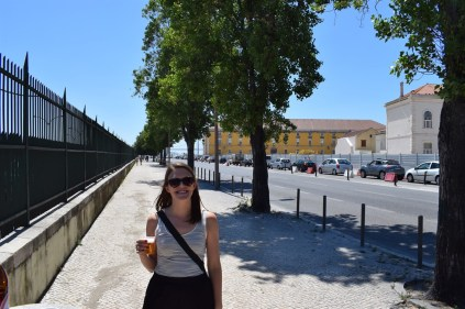 Upon arriving in Lisbon, we grabbed some cold beers from our hostel, poured ourselves a glass and headed straight for the water.