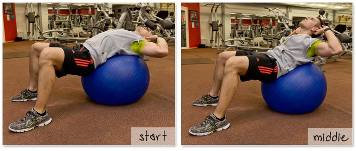 captains chair exercise 2 classic balance ball 3 best abs exercises for a quicker 6 pack crunch on