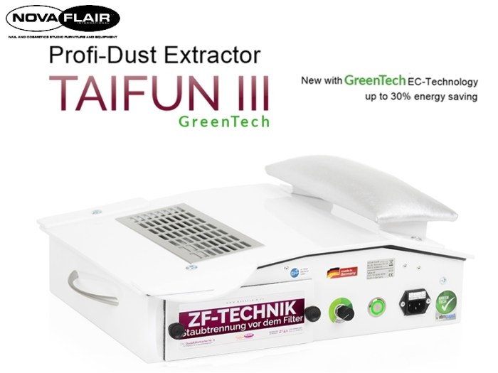 Taifun 3 Professional Dust Collector Filtration System Nova Flair UK