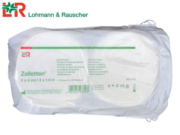 Cellulose Swabs Zelletten Lohmann & Rauscher Mark