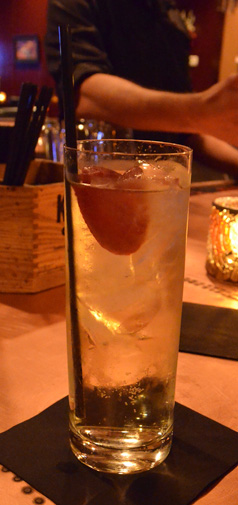 Apple Brandy Highball