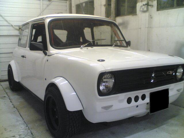 Mini Front End Clubman 2 Piece Abs Motorsport