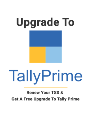 renew tss and free ugrade to tally prime