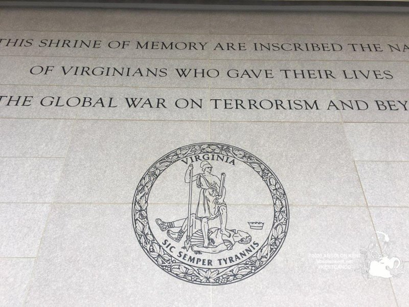 Virginia War Memorial Dedication Ceremony