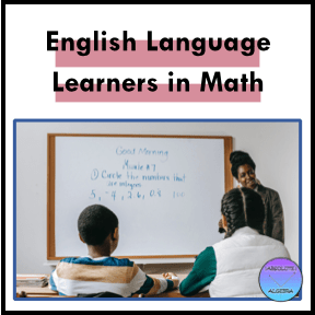 English Language Learners in Math, teacher at front of room