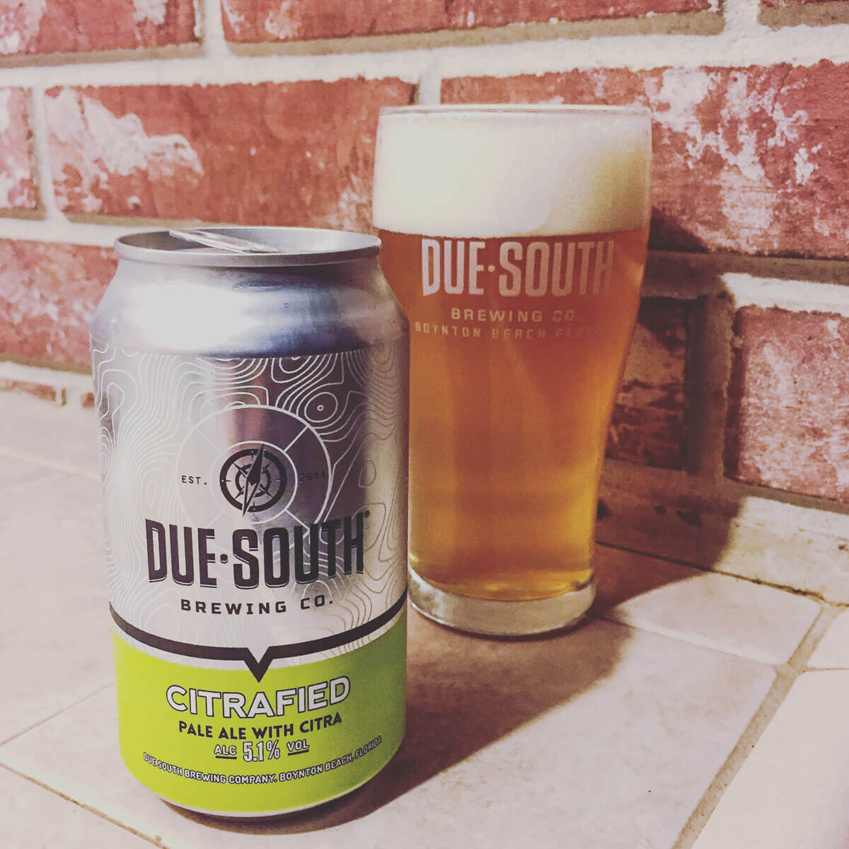 Citrafied, an American Pale Ale by Due South Brewing Co.