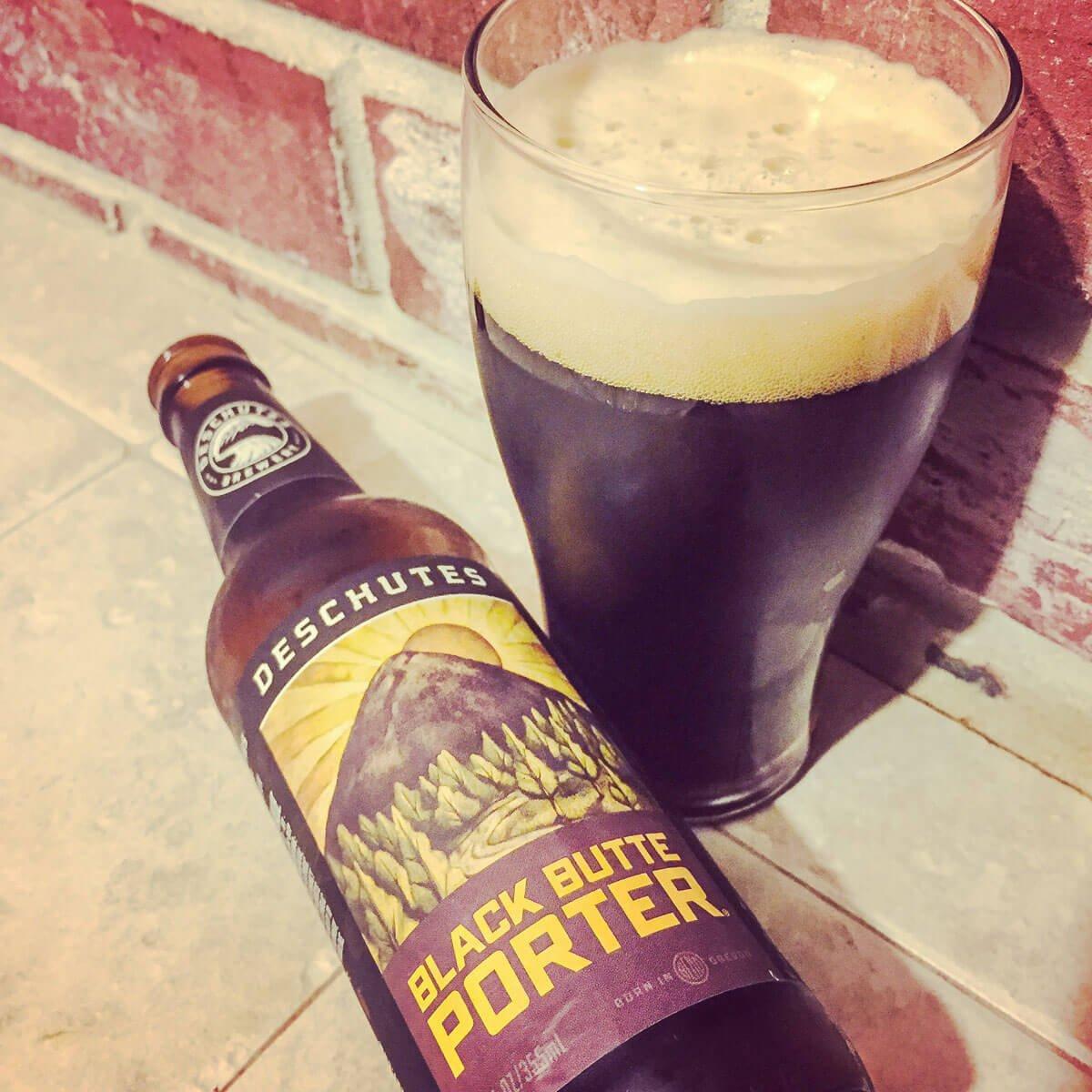 Black Butte Porter, an American Porter by Deschutes Brewery