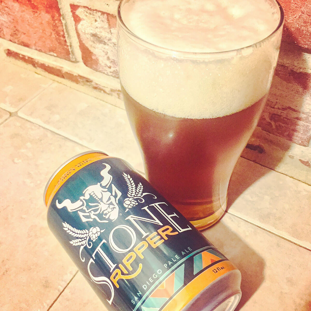 Stone Ripper, an American Pale Ale by Stone Brewing