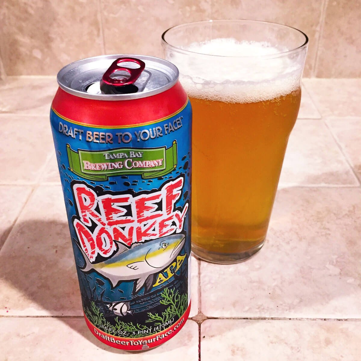 Reef Donkey, an American Pale Ale by Tampa Bay Brewing Company