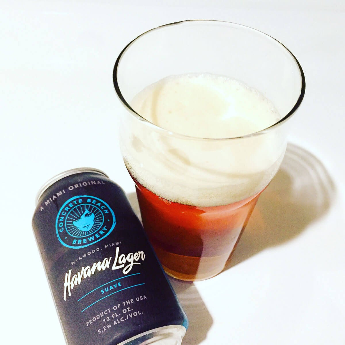 Havana Lager, a Vienna Lager by Concrete Beach Brewery
