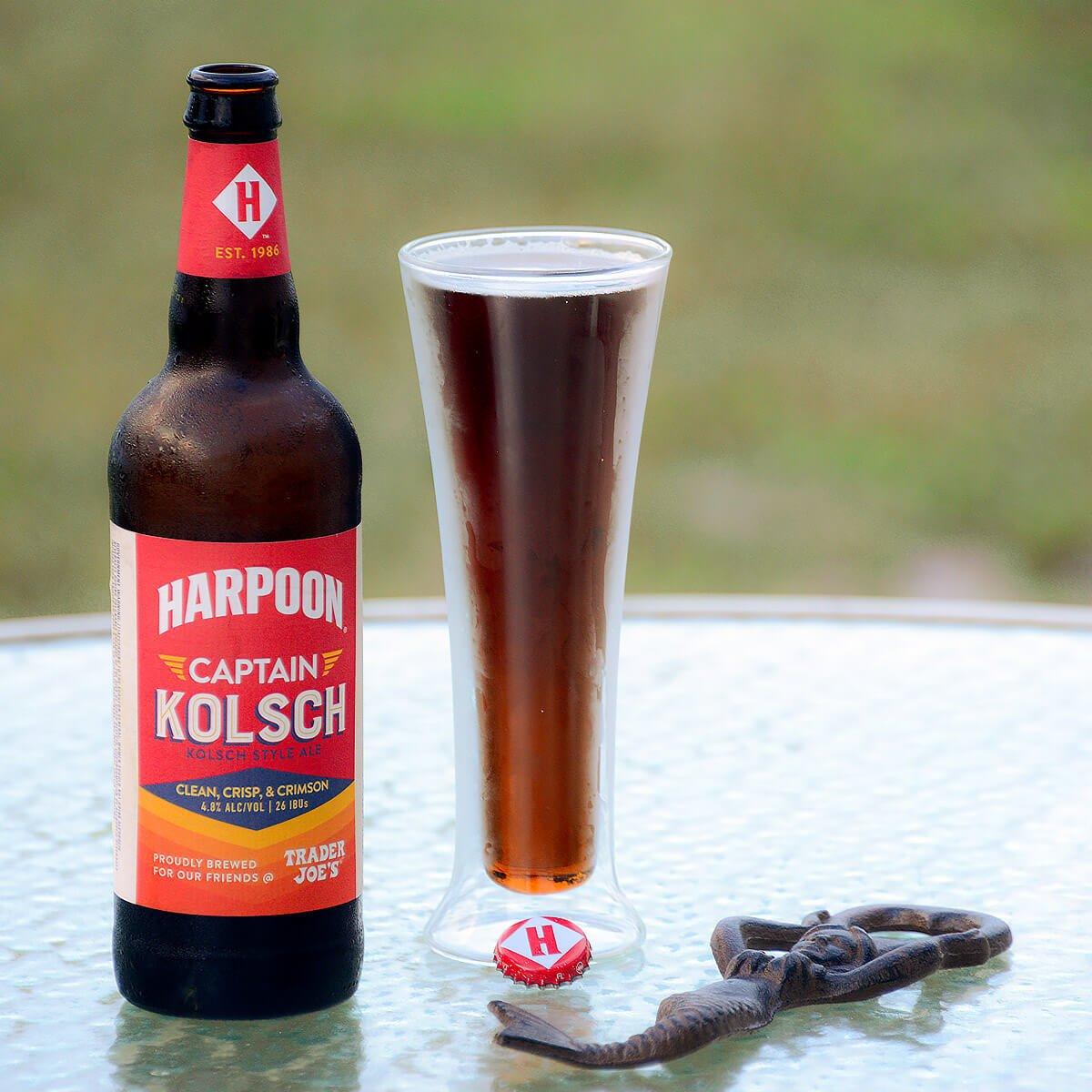 Captain Kölsch, a German-style Kölsch by Harpoon Brewery