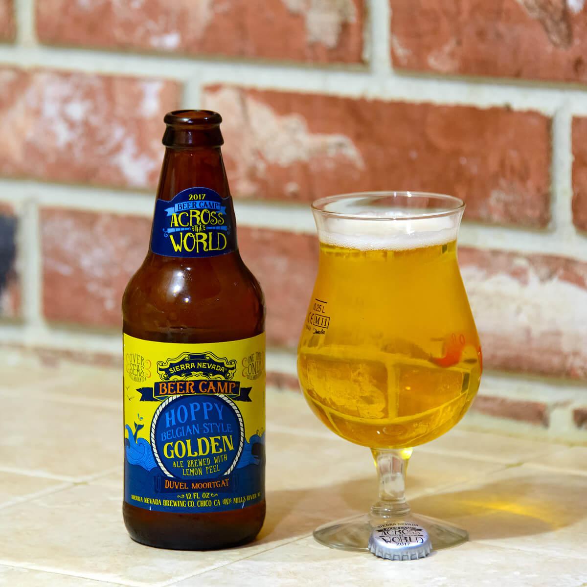 Hoppy Belgian-style Golden Ale by Sierra Nevada Brewing Co. and Duvel Moortgat