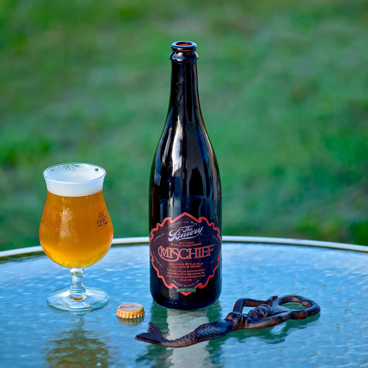Mischief, a Belgian-style Golden Ale by The Bruery