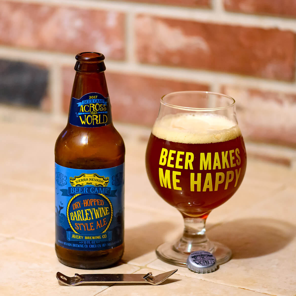 Dry-Hopped Barleywine Style Ale by Sierra Nevada Brewing Co. and Avery Brewing Co.