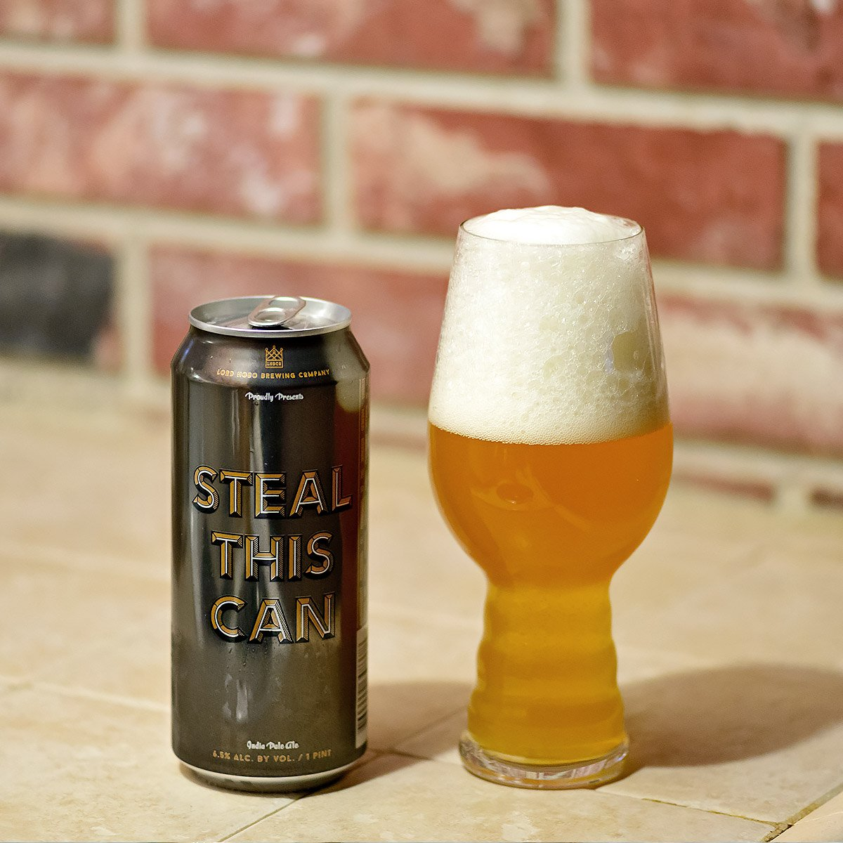 Steal This Can, an American IPA by Lord Hobo Brewing Co.