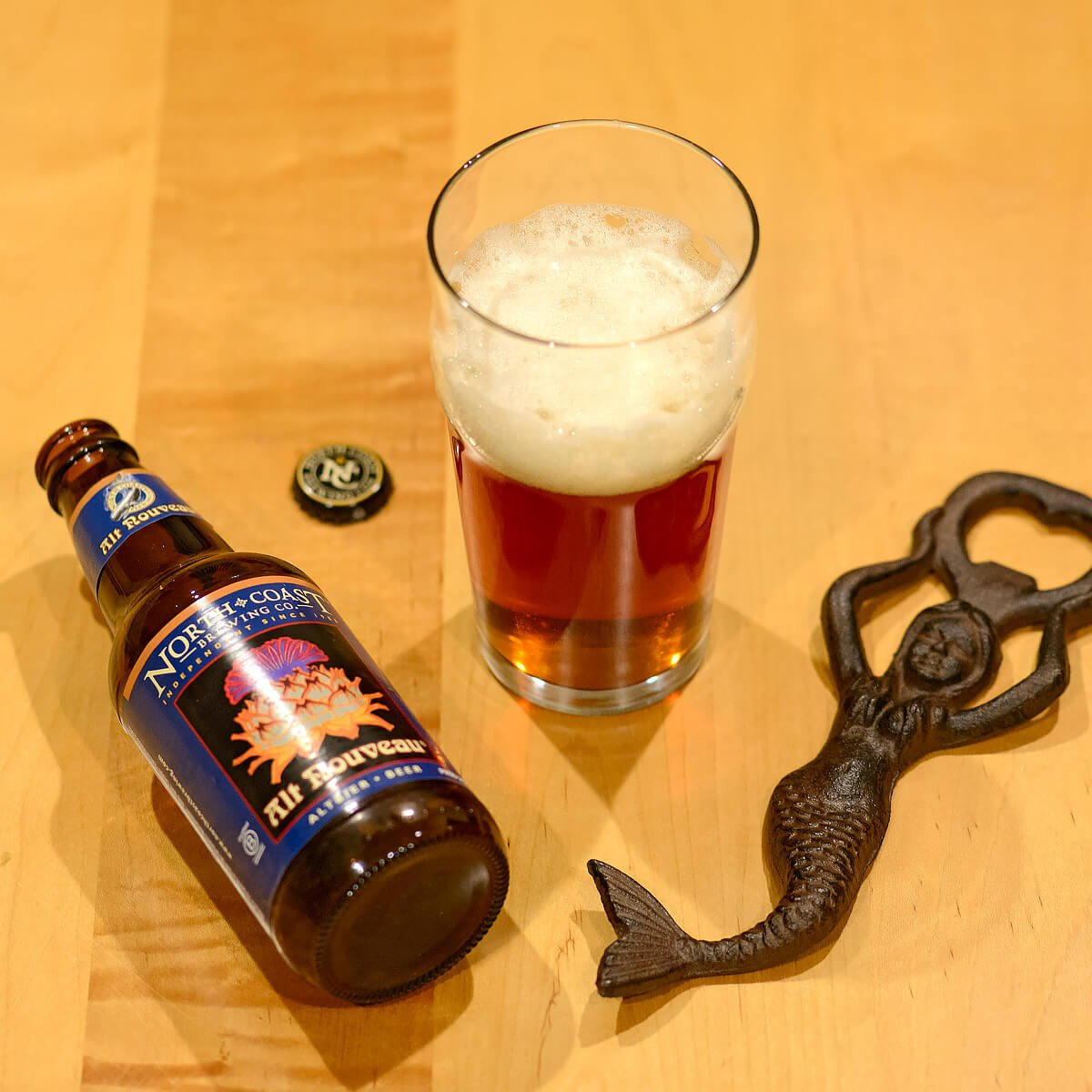 Alt Nouveau, a Germany-style Altbier by North Coast Brewing Co.