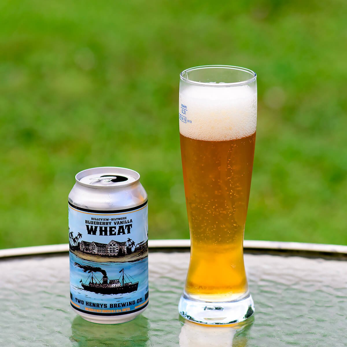 Belleview Biltmore Blueberry Vanilla Wheat, American Wheat Ale by Two Henrys Brewing Co.