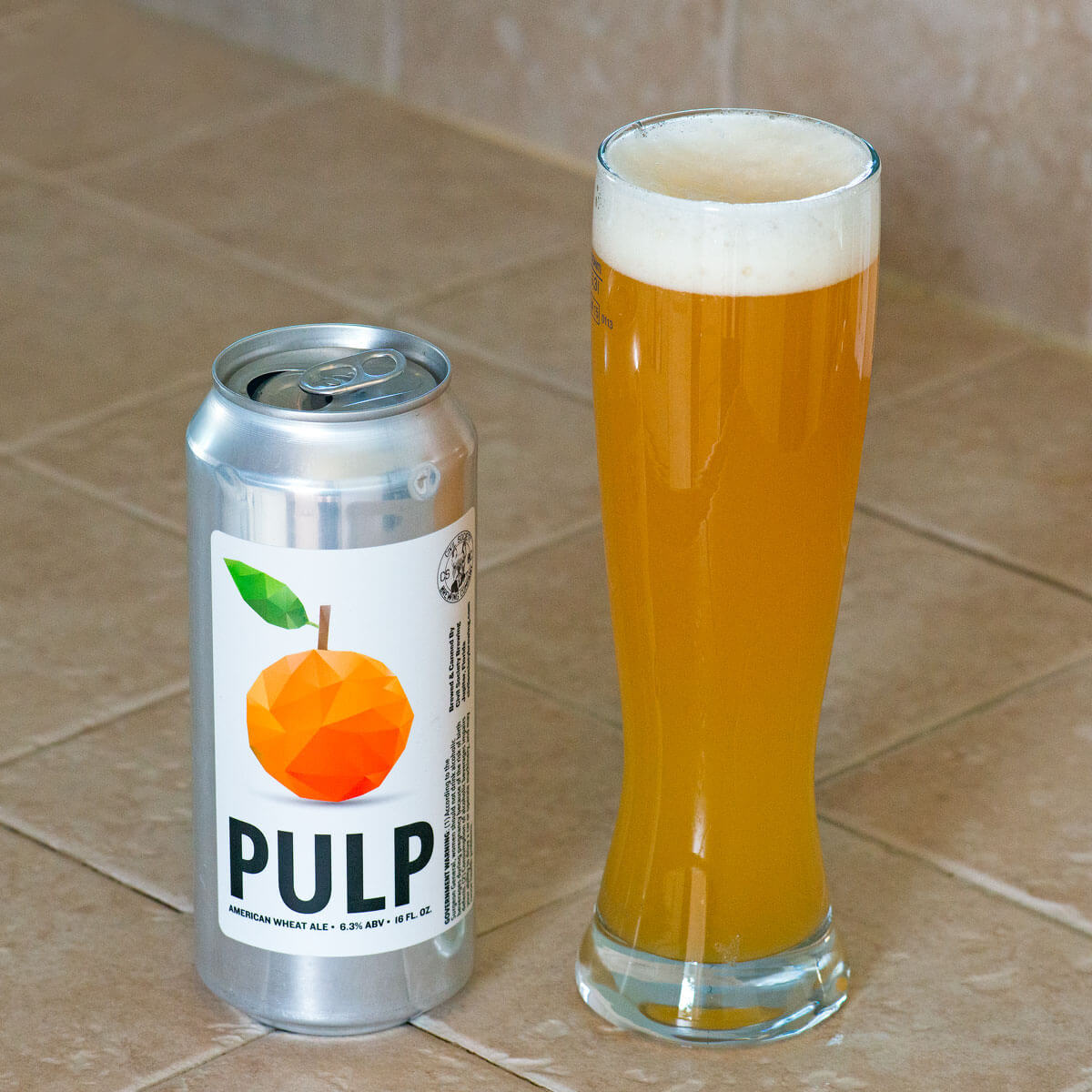 Pulp, an American Wheat Ale by Civil Society Brewing Co.