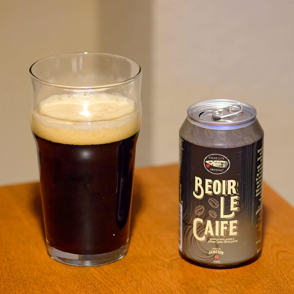 Beior Le Caife, an American Brown Ale by Cigar City Brewing