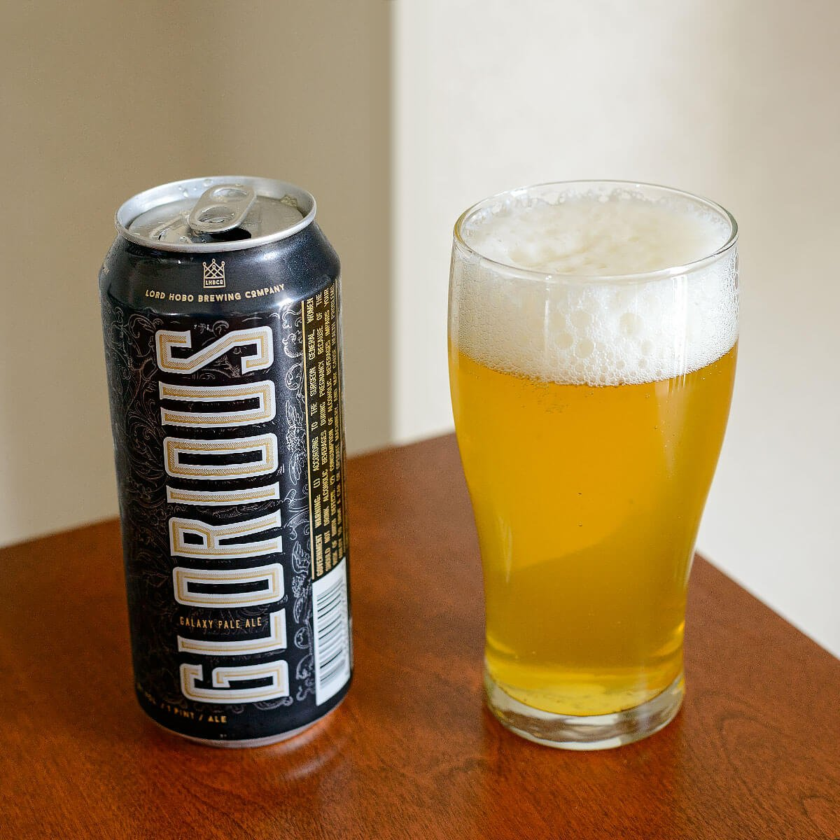 Glorious, an American Pale Ale by Lord Hobo Brewing Co.