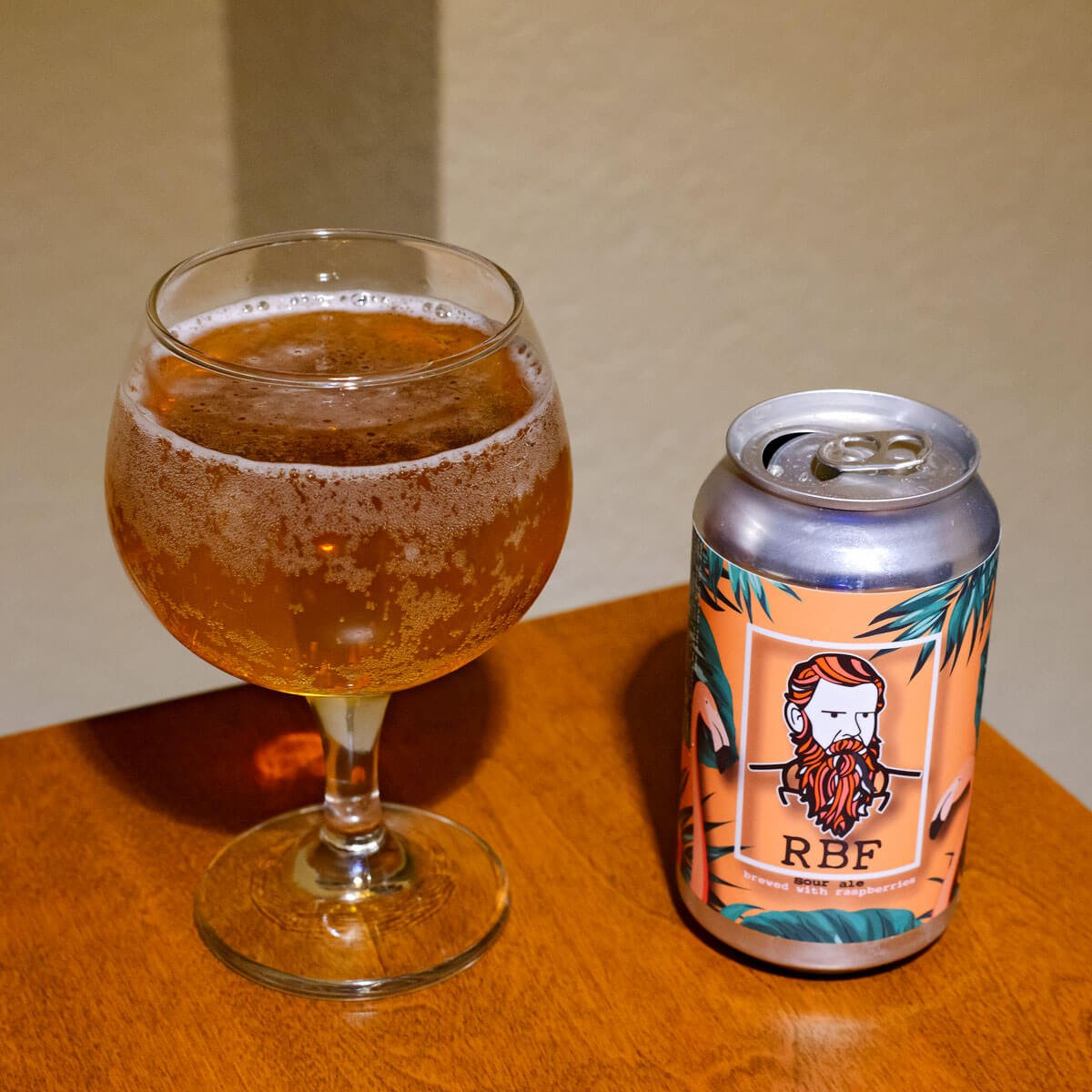 RBF Raspberry Sour Ale, a German-style Gose by The Larimer Beer Company