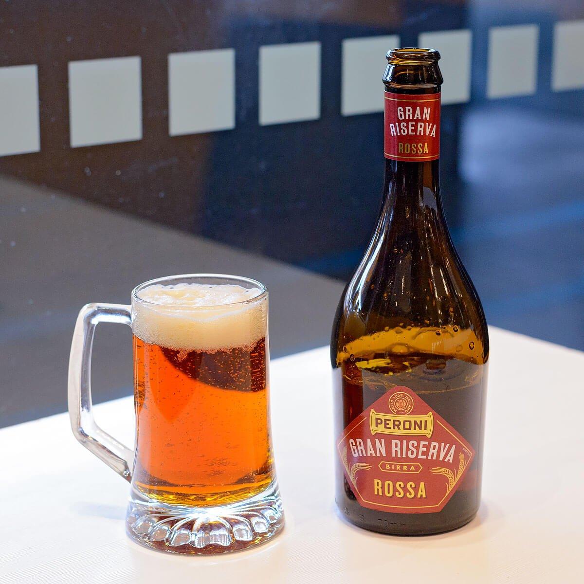 Gran Riserva Rossa, a Vienna Lager by Birra Peroni Industriale S.p.A.