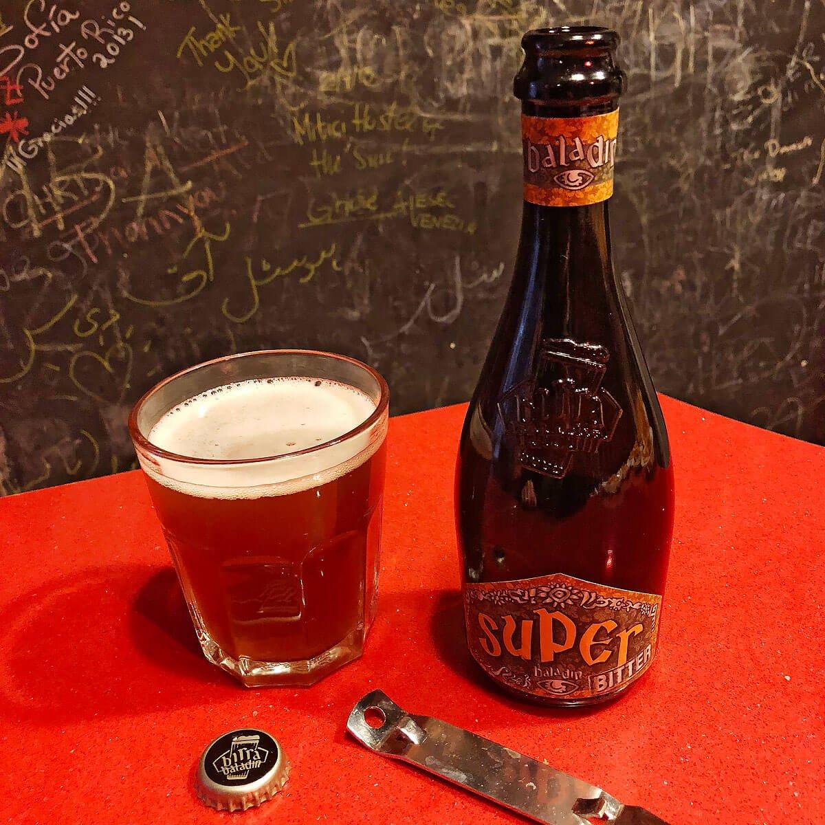 Super Bitter, a Belgian-style Strong Pale Ale by Birrificio Le Baladin