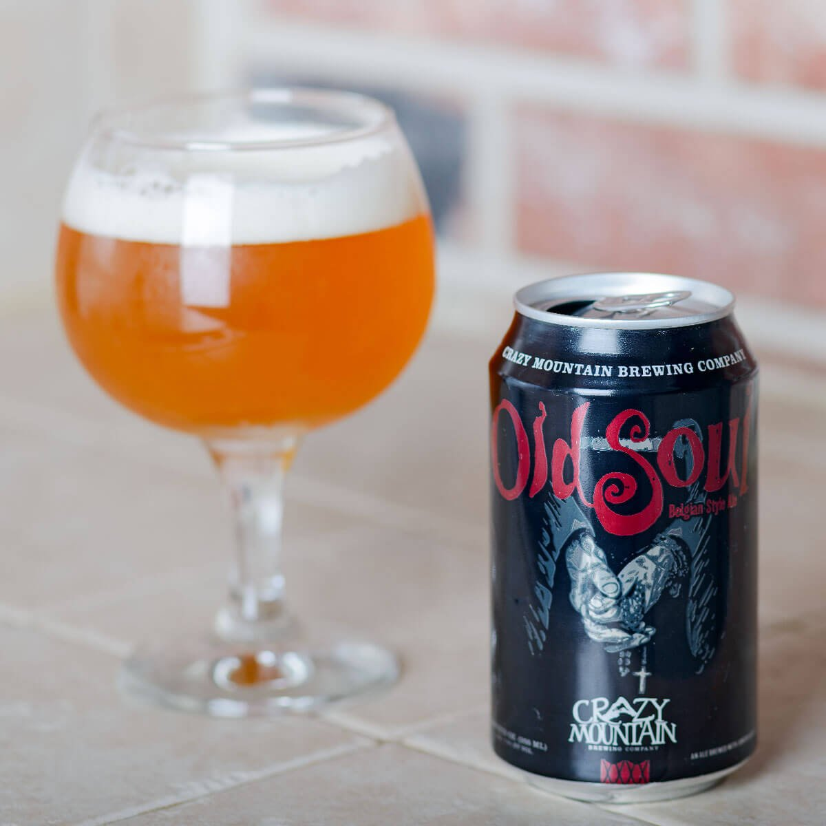 Old Soul Belgian-style Ale, a Belgian-style Strong Pale Ale by Crazy Mountain Brewing Company