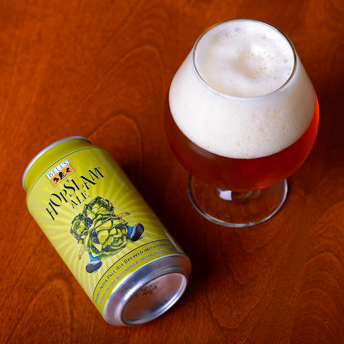 Hopslam Ale, an American Double IPA by Bell's Brewery, Inc.