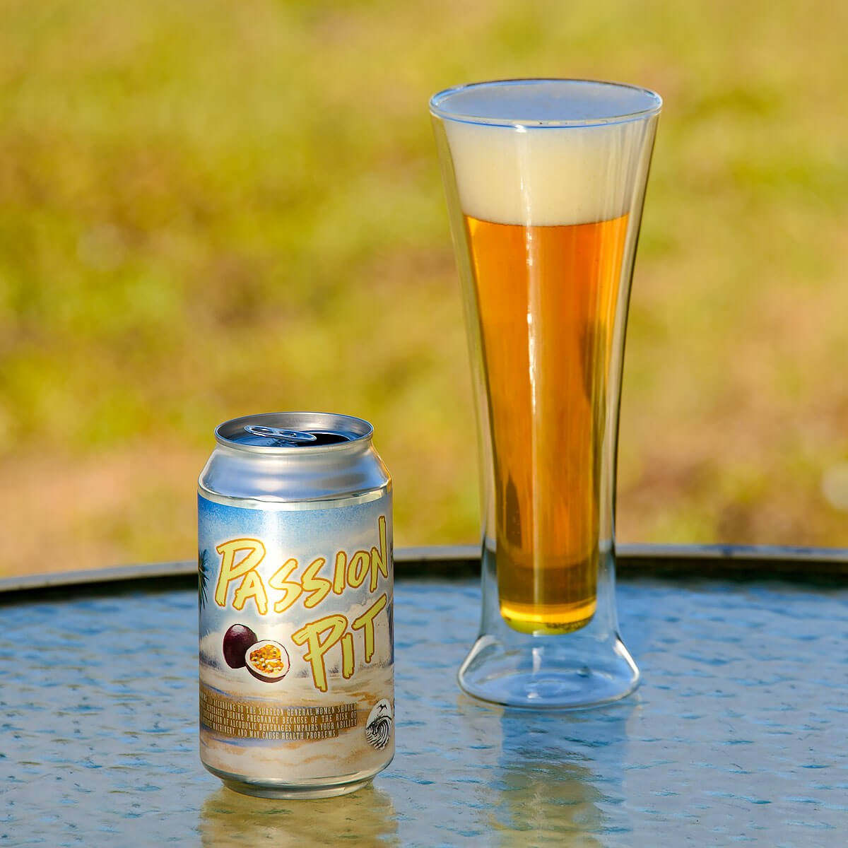 Passion Pit, an American Blonde Ale by SaltWater Brewery