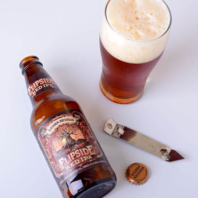 Flipside Red IPA, an American Red Ale by Sierra Nevada Brewing Co.