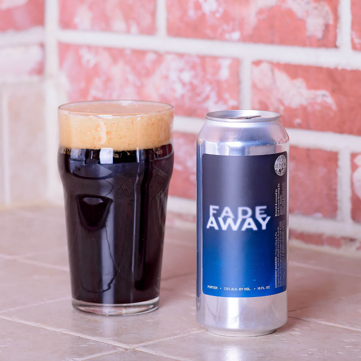 Fade Away, an American Porter by Civil Society Brewing Co.