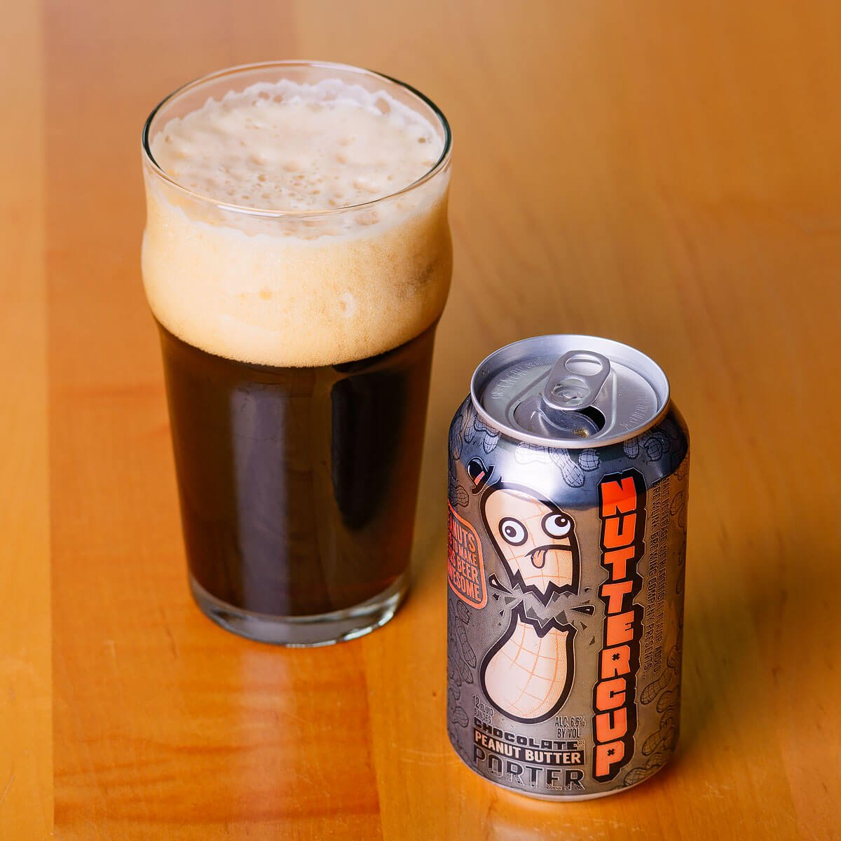 Nuttercup, an American Porter by Brew Link Brewing Company