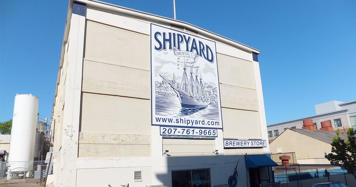 """Portland-based Shipyard Brewing is planning a massive $65 million renovation and expansion, including a """"brewtel"""""""