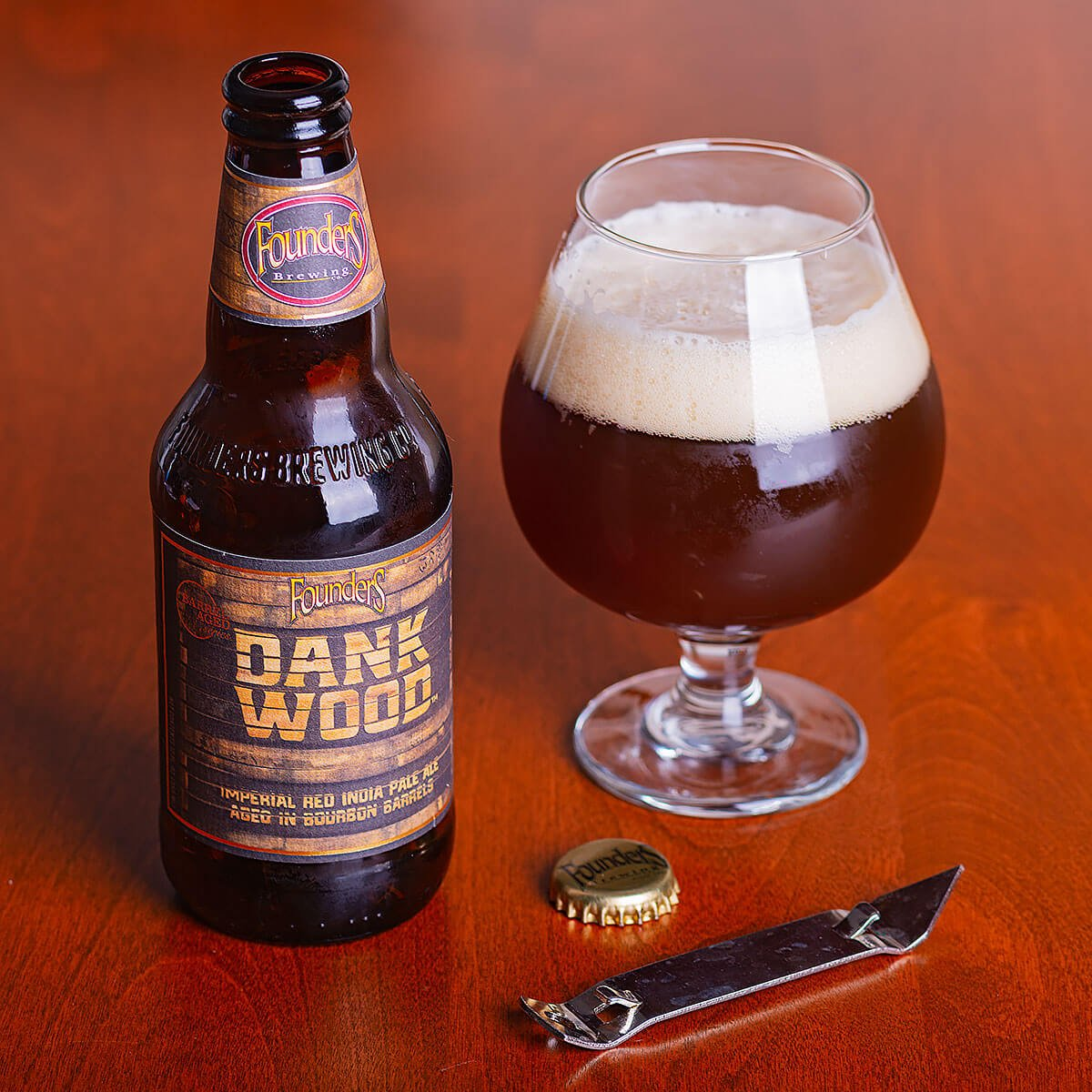 Dankwood, an American Red Ale by Founders Brewing Co.