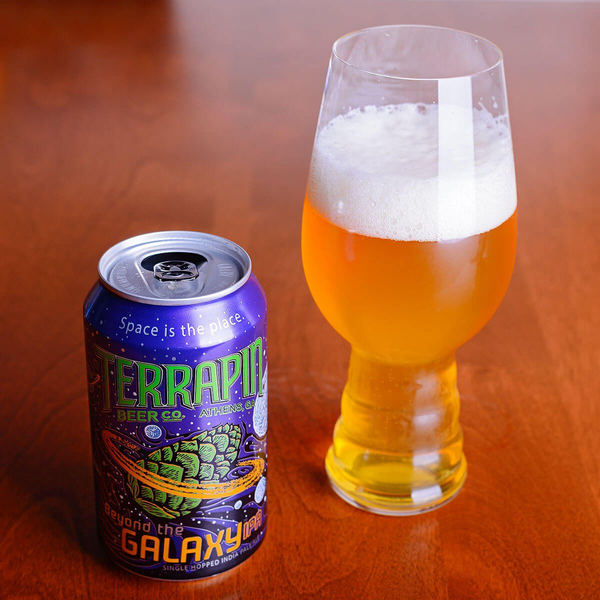 Beyond The Galaxy, an American IPA by Terrapin Beer Co.