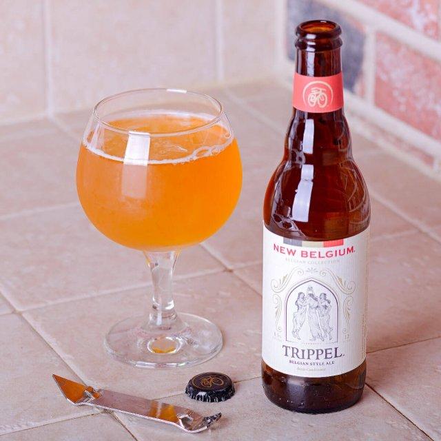Trippel Belgian Style Ale, a Belgian-style Tripel by New Belgium Brewing Company