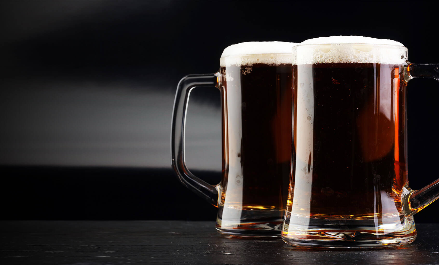 American Brown Ale in a Mug