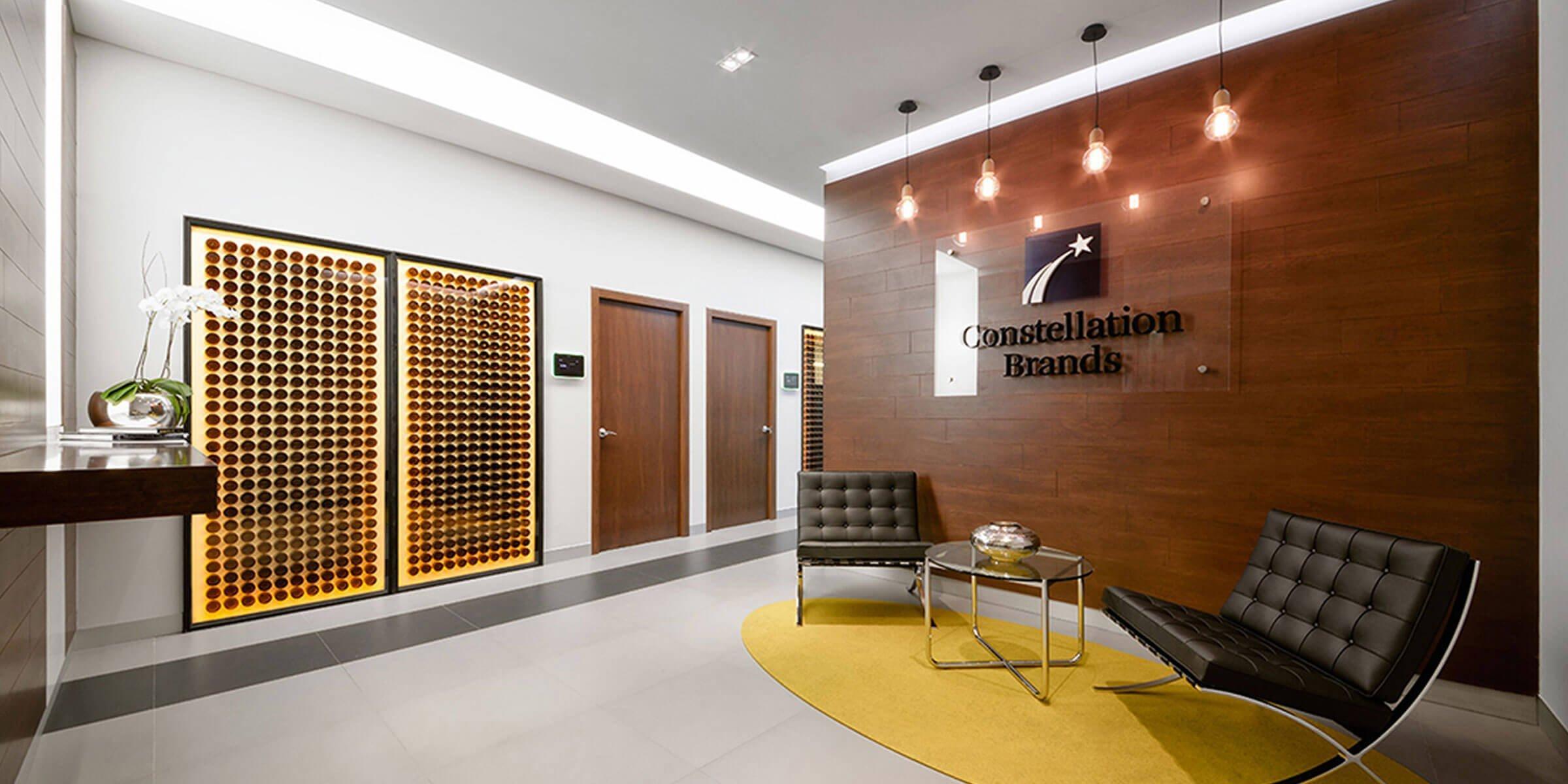 Constellation Brands Corporate Office Interior