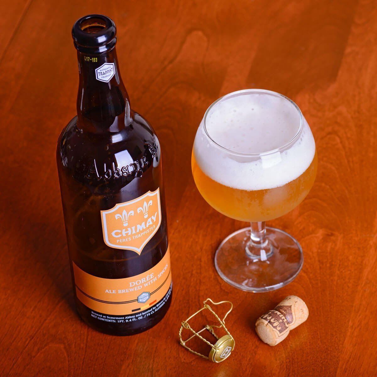 Dorée (also known as Chimay Gold) is a Belgian Pale Ale brewed by Bières de Chimay.