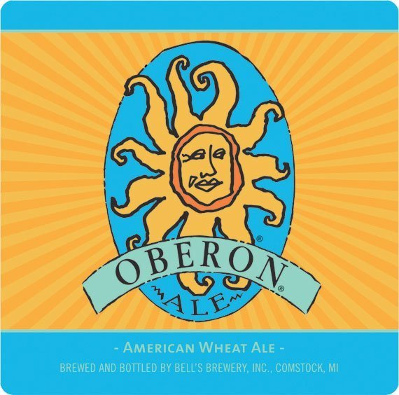 Label art for the Oberon Ale by Bell's Brewery, Inc.