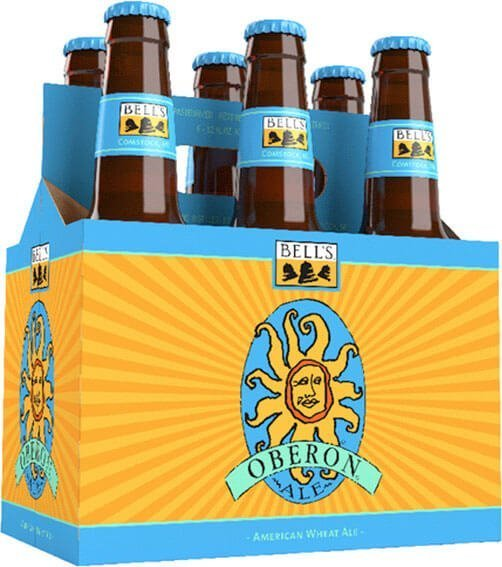 Packaging art for the Oberon Ale by Bell's Brewery, Inc.