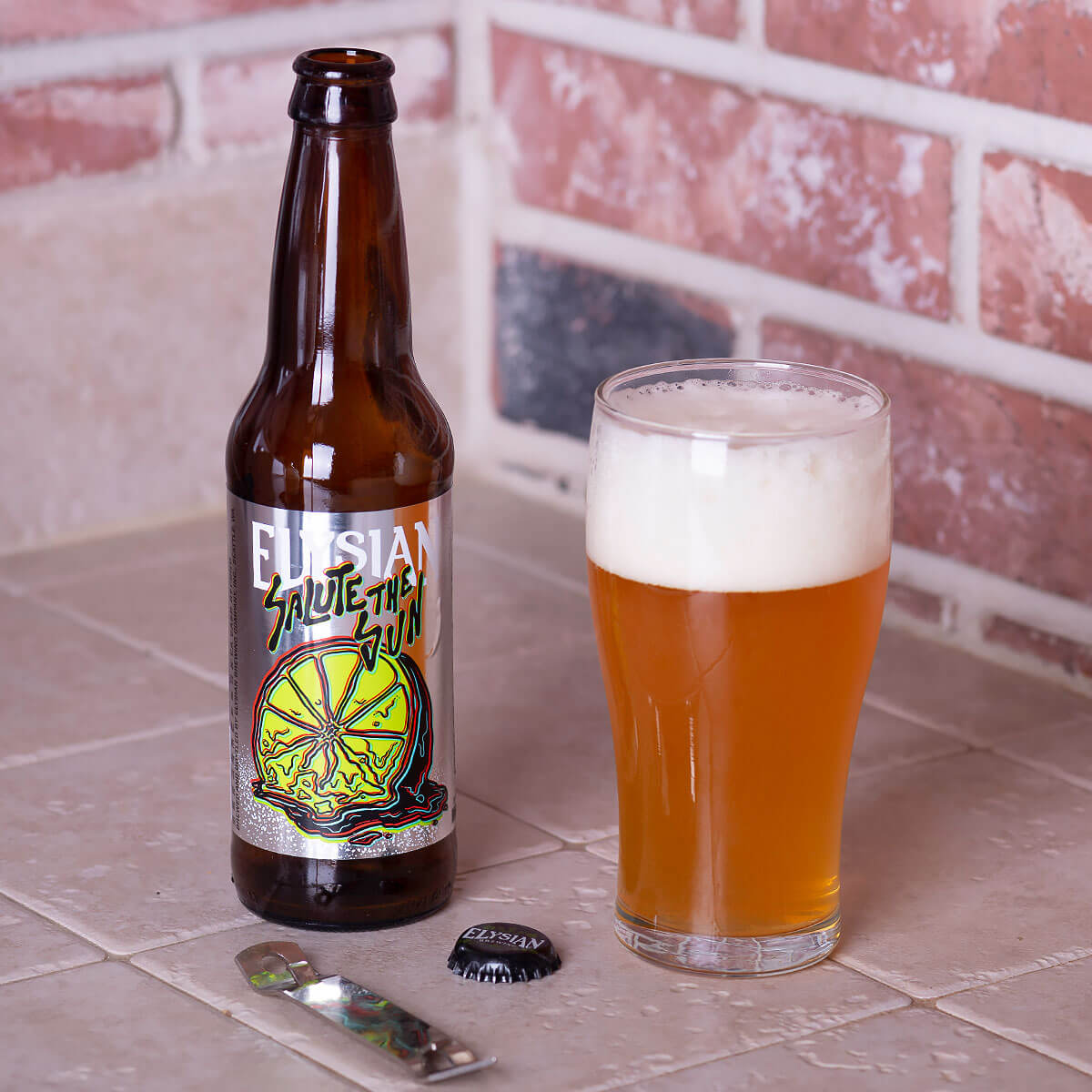 Salute the Sun, an American Pale by Elysian Brewing Company
