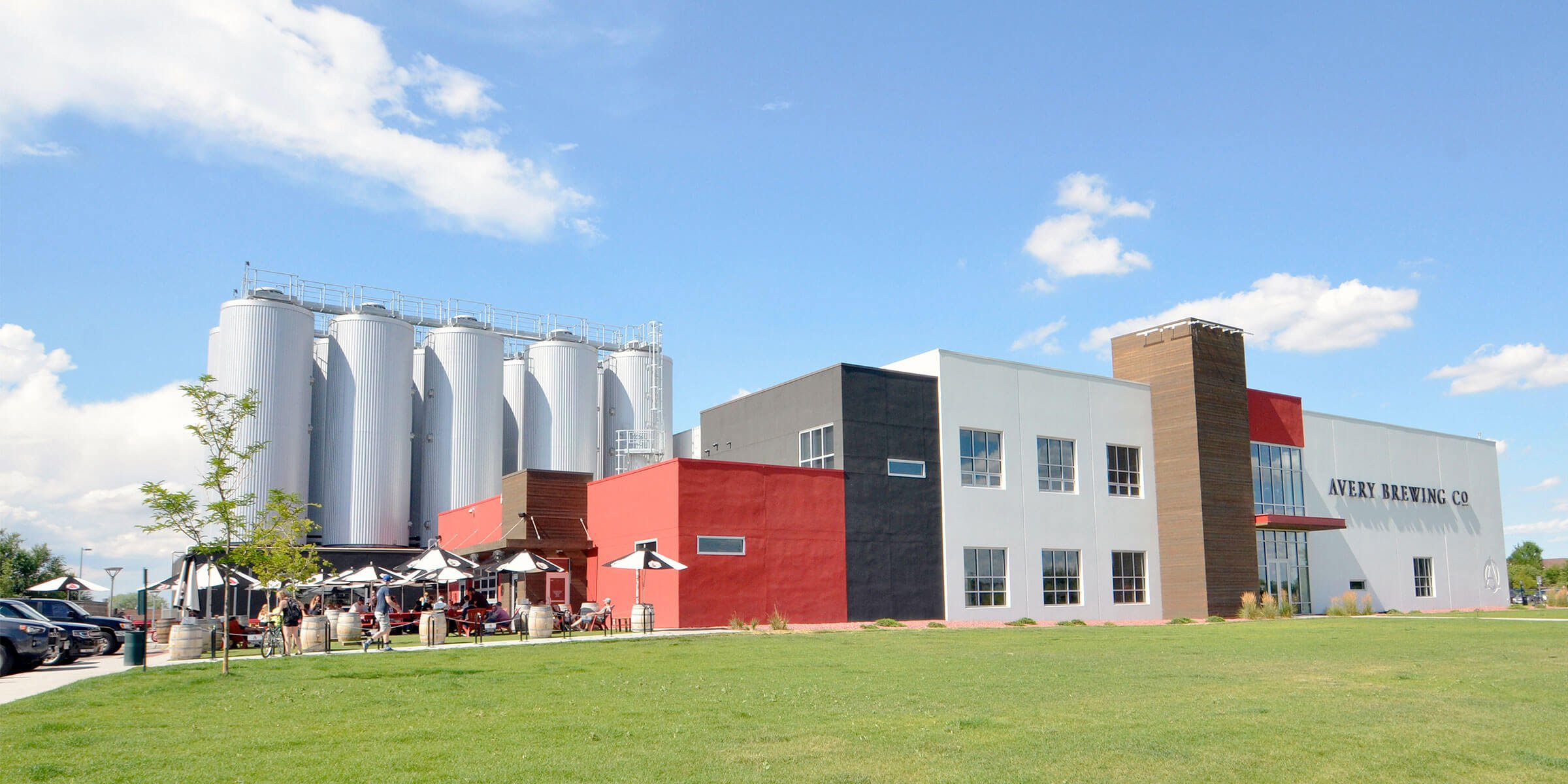 Outside the Avery Brewing Co. production facility in Boulder, Colorado